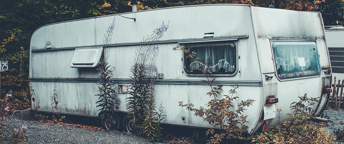 Vochtschade aan je camper of caravan