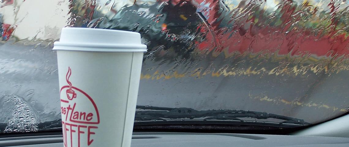 Een bakje koffie onderweg is geen luxe, maar een levensbehoefte