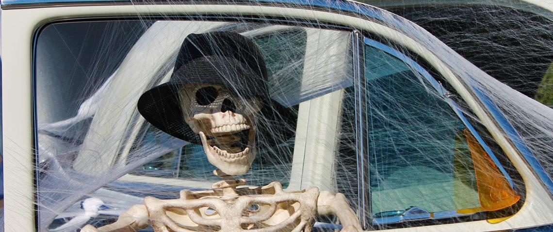 Speciaal voor Halloween: Een paar griezelig gave auto's