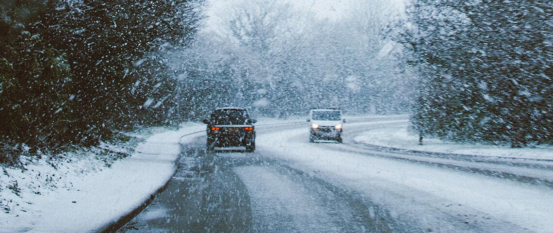 Autorijden met sneeuw. 5 veiligheidstips