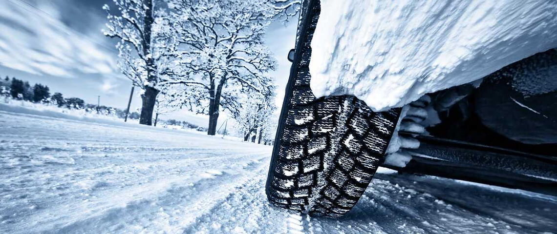 Ik ga op wintersport met de auto en neem mee